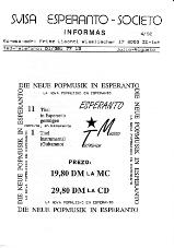 SES informas, 1992-4, julio-aŭgusto