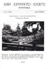 SES informas, 1993-4, julio-aŭgusto