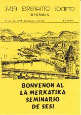 SES informas, 1994-6a, speciala eldono