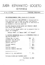 SES informas, 1996-1, januaro-februaro