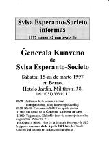 SES informas, 1997-2, marto-aprilo