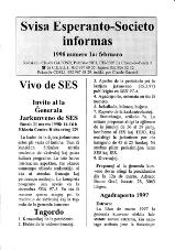SES informas, 1998-1, februaro