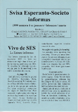 SES informas, 1999-1, januaro-marto