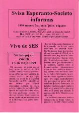 SES informas, 1999-3, junio-aŭgusto
