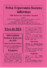 SES informas, 1999-4, septembro-oktobro