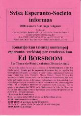 SES informas, 2000-3, majo-aŭgusto