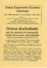SES informas, 2000-5, novembro-decembro