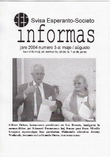 SES informas, 2004-3, majo-aŭgusto